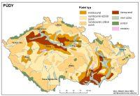 Pudy Ceska Republika Tematicky Atlas Pedagogicka Fakulta