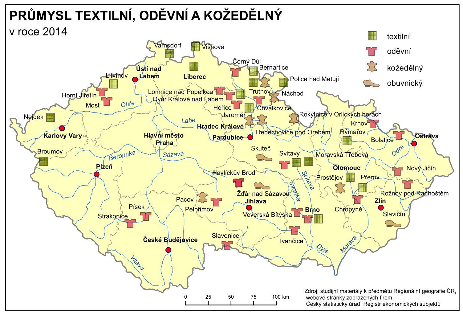 Hospodarstvi Ceska Republika Tematicky Atlas Pedagogicka