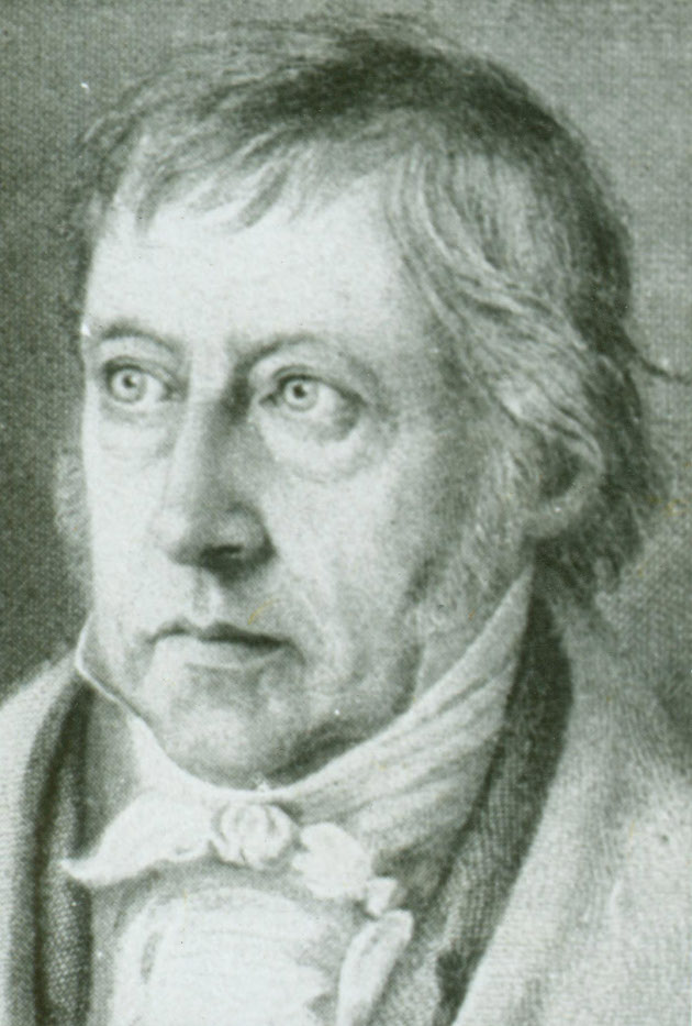 georg wilhelm friedrich hegel thesis antithesis The triad thesis, antithesis, synthesis synthesis) is often used to describe the thought of german philosopher georg wilhelm friedrich hegel thesis: the.