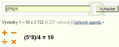 Kalkulačka.