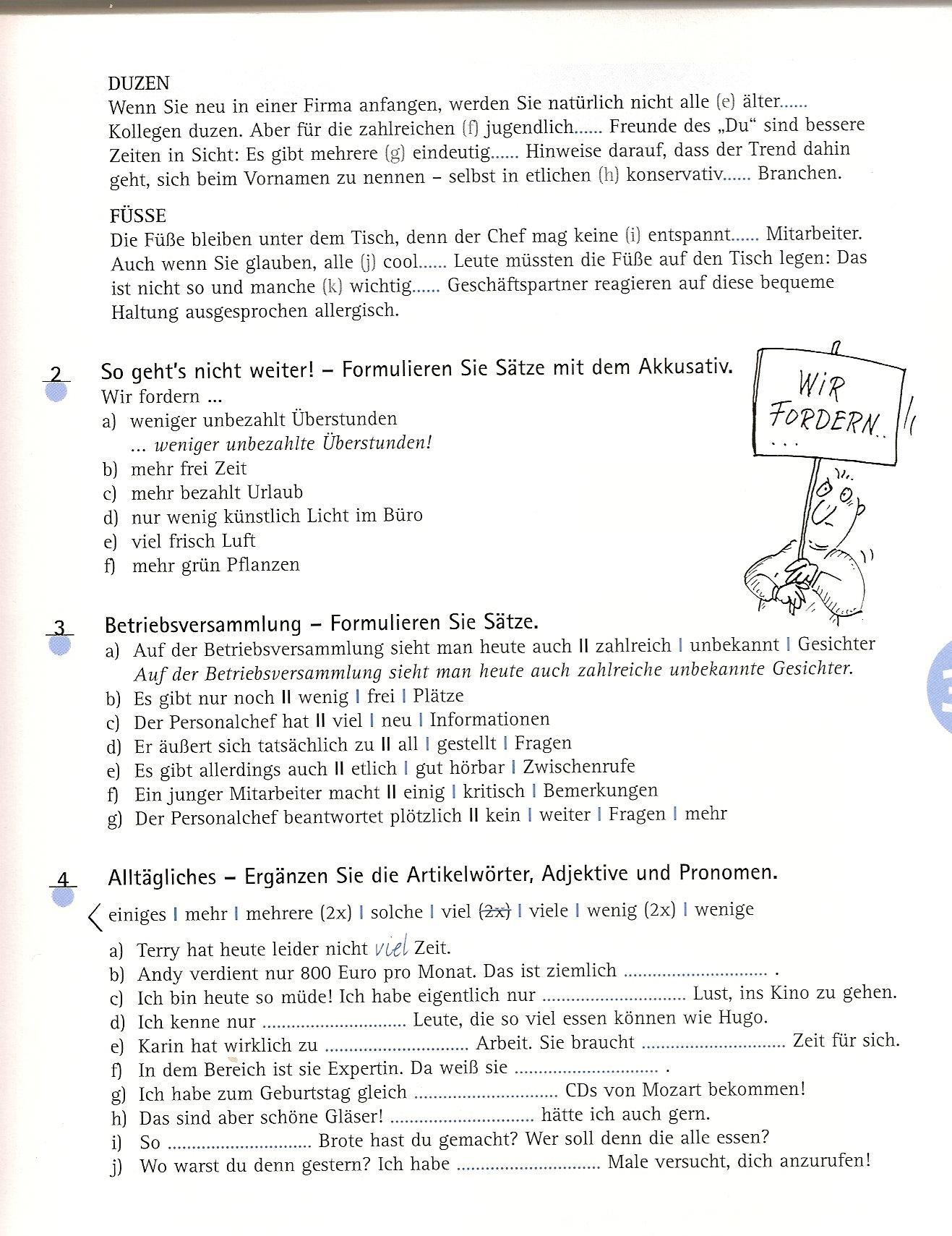Perfect Adjektive Als Subjekt Arbeitsblatt Ergänzt Sketch ...
