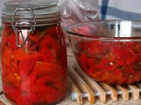 Pečené papriky – náhled